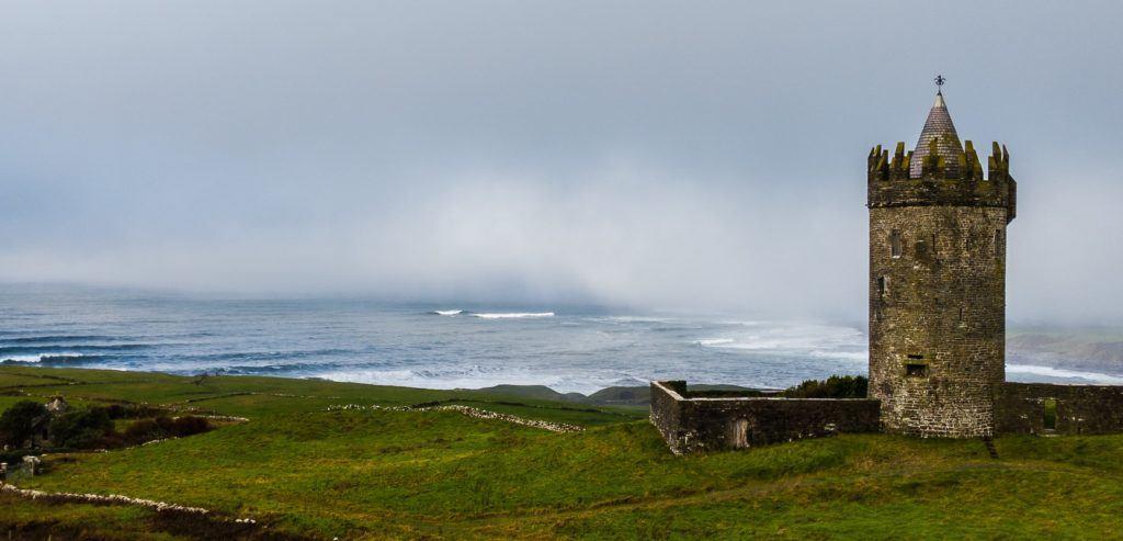 Doonagore Castle, County Clare, Ireland
