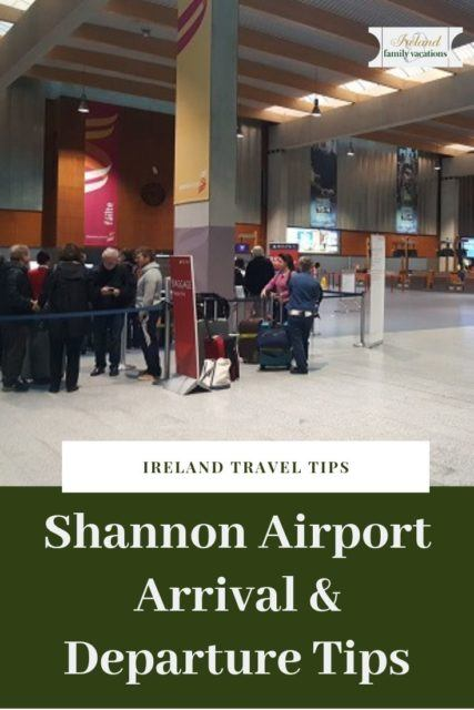 Shannon Airport arrival and departure tips