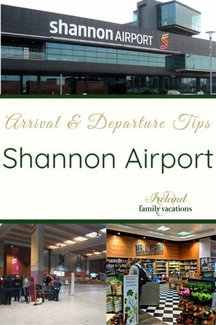 Shannon Airport tips for arrival & departure
