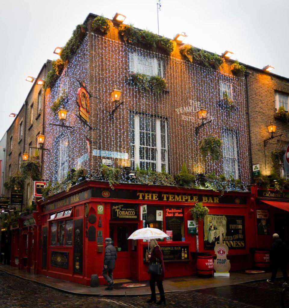 The Temple Bar in Temple Bar, Dublin