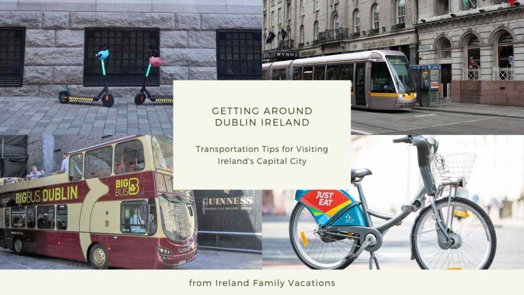 Getting Around Dublin Ireland