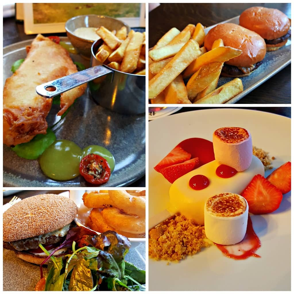 Gallery Bar food at Lough Eske Castle, Donegal, Ireland