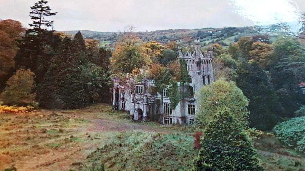 ruins of Lough Eske Castle