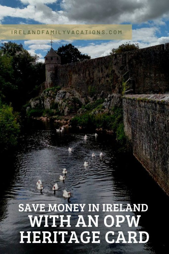 save money in Ireland with an OPW Heritage Card