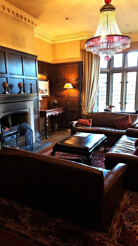 sitting room at Lough Eske Castle, County Donegal, Ireland
