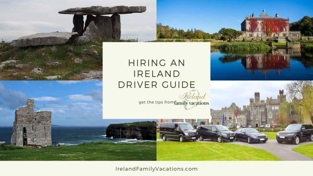 Images of Ireland- Poulnabrone Dolmen, Westport House, Ballybunion Castle, Ireland Chauffeur Travel vehicles at Ashford Castle