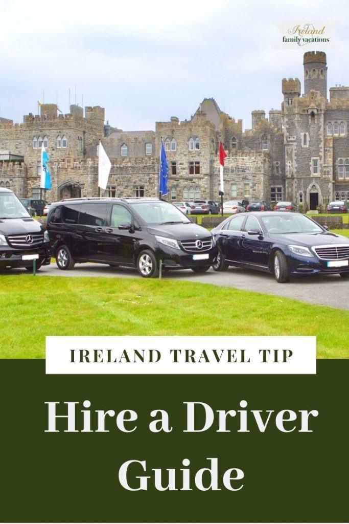 Ireland Chauffeur Travel vehicles at Ashford Castle