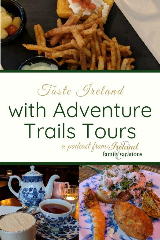 Irish Food Trail tour in Dublin or Galway