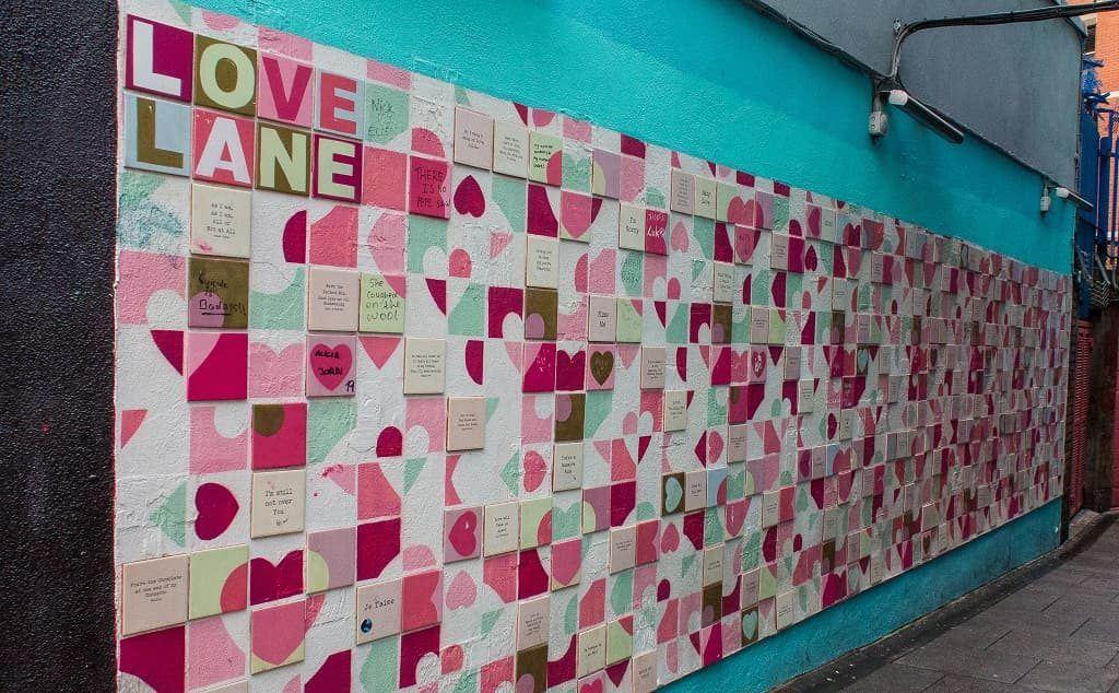 Love Lane, Temple Bar, Dublin, Ireland