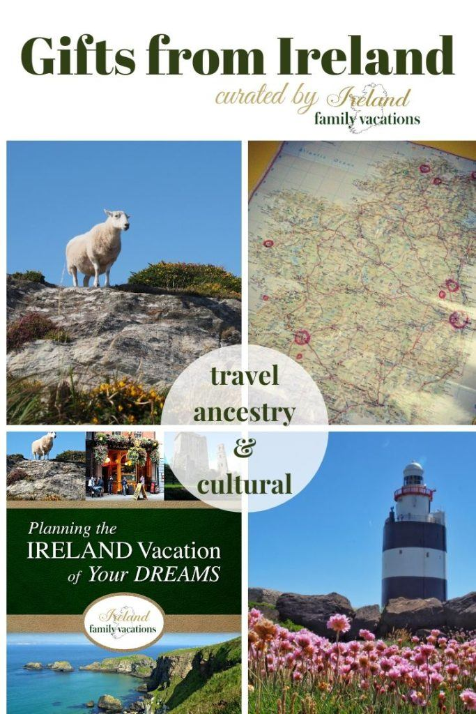 Travel, cultural and ancestral gifts from Ireland