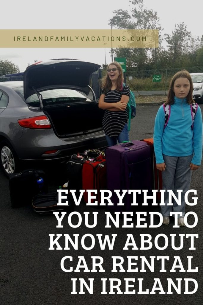 Too much luggage! How to rent a car in Ireland