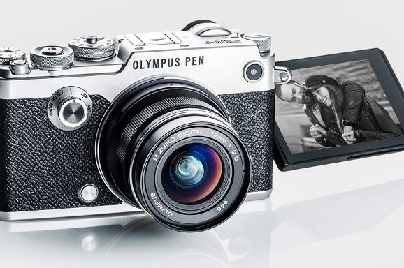 Olympus PEN mirrorless camera