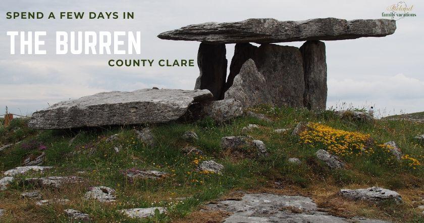 Poulnabrone Dolmen, the Burren, County Clare