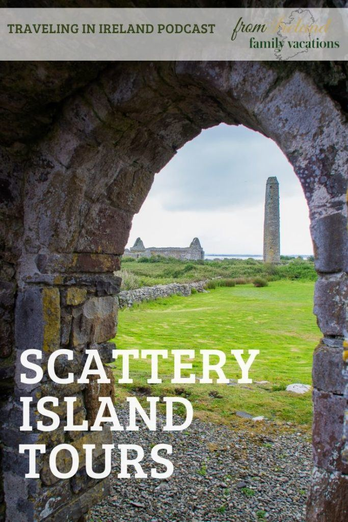 Round Tower on Scattery Island, County Clare, Ireland