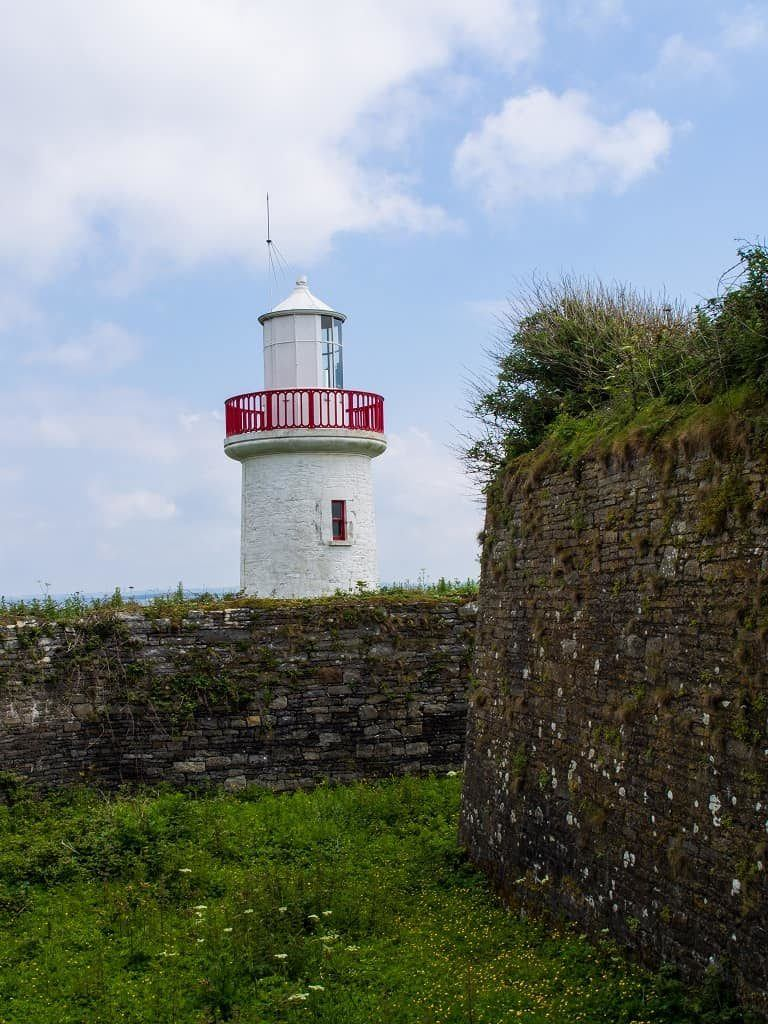 Lighthouse on Scattery Island, County Clare, Ireland