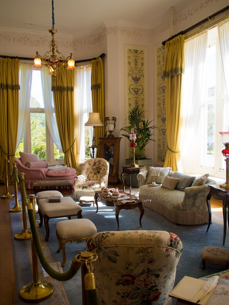 Drawing Room, Kylemore Abbey, County Galway