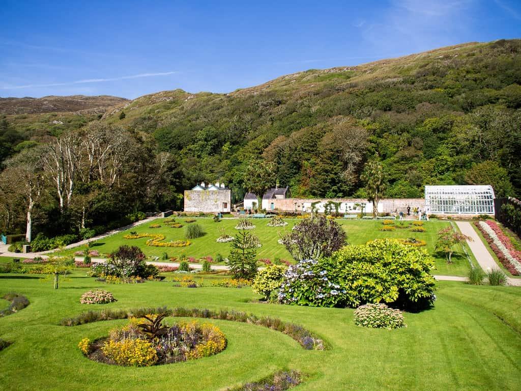 Victorian Walled garden, Kylemore Abbey, Connemara, County Galway, Ireland