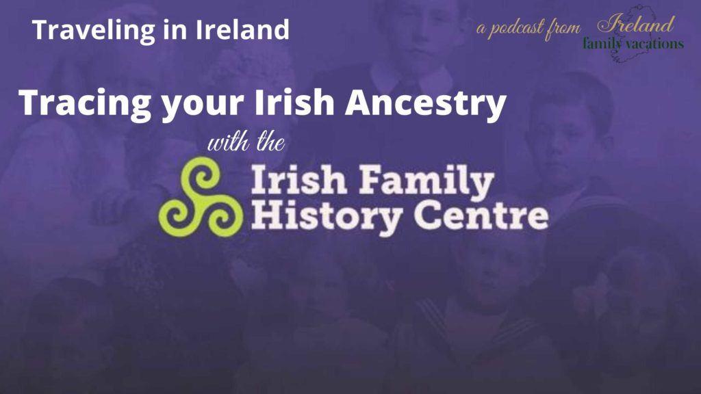 Irish Family History Centre, Dublin, Ireland - photo used with permission