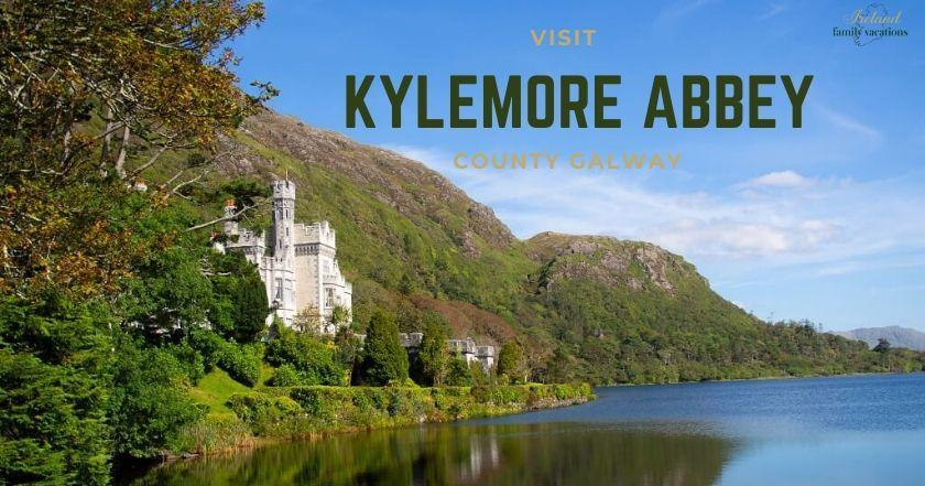Kylemore Abbey. Connemara, County Galway, Ireland