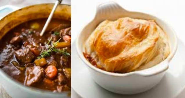 Steak & Guinness Pie Recipe | Flavors of County Fermanagh